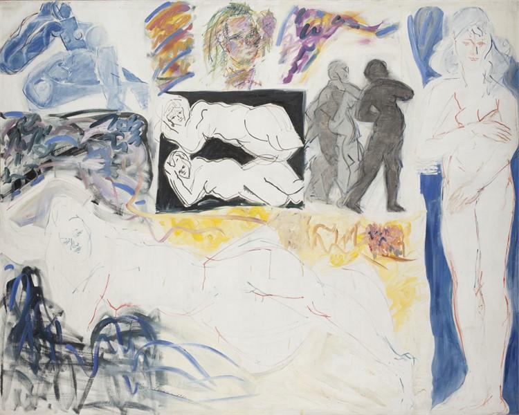 Fay Lansner Sacred & Profane Love, Oil on canvas, 76 x 96